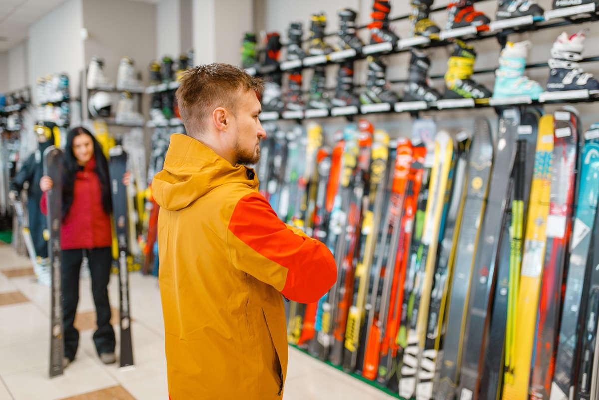scegliere altezza sci